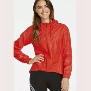 Fabletics Europa Pullover Hooded Raincoat …